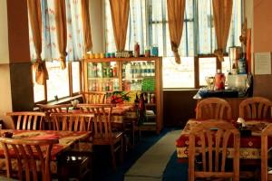 Tashi Zom Guest House, Dining area, Kibber