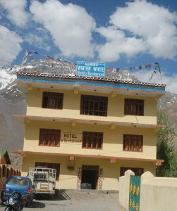 Winter White Hotel . Kaza, Spiti