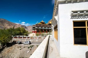 Spiti Vallley Hotel, Kaza view